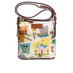 Retro Disneyland Letter Carrier Bag by Dooney & Bourke - LOVE THIS