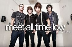 Meet All Time Low.