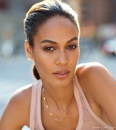 A photo from my shoot with Joan Smalls for Estee Lauder / Garance Doré