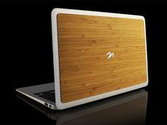 Custom MacBook Bamboo Back
