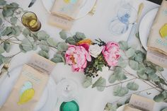 Die Cut Wedding Placecards | Ann-Marie Loves