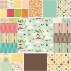 Riley Blake Designs - October Afternoon - love several of these fabrics.  May have to have a few...