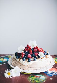 Berry Cake To Die For