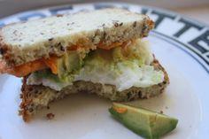 california sun dried tomato breakfast sandwich