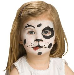 Painted face: Dalmation