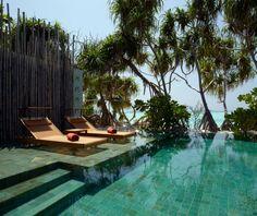 kihavah villa, dream pool, villas, resort, beach, place, anantara kihavah, pools, hotels