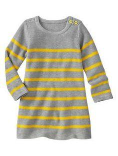 Stripe sweater dress   Gap