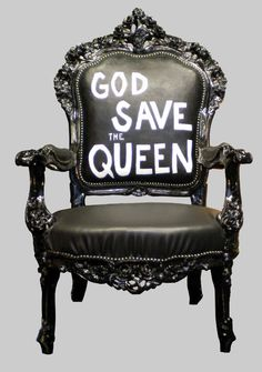 And her throne, too.
