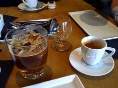 Carajillo ~Licor 43, espresso, ice~ Delicious!
