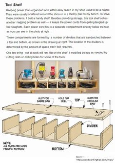 Garage ideas on Pinterest | Lumber Storage, Workbenches and Garage ...