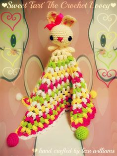 Sweet Tart The Crochet Lovey