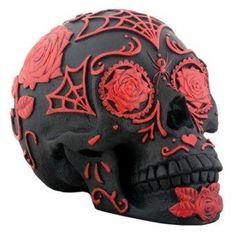 Day of the Dead sugar skull.
