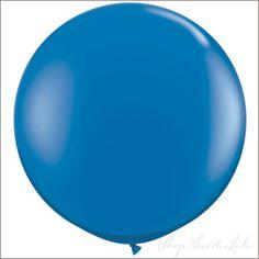 """36"""" Round Balloon: Sapphire Blue"""