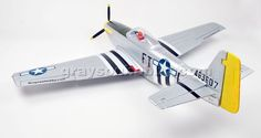 Dynam P51D Mustang w/ Retracts (PNP) - The new P51D Mustang by Dynam is a true scale 5 channel R/C aircraft and comes with pre-installed electronic retracts.