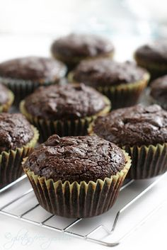 Gluten Free Chocolate Chip Brownie Muffins    1 package Namaste Foods Brownie Mix  3/4 c oil  1/2 c water  3 eggs  3/4 c enjoy life chocolate chips