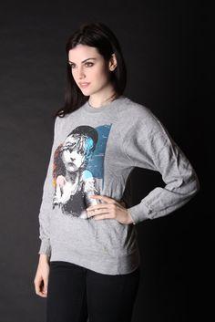 Les Miserable Shirt   Vintage Sweatshirt   1980s Les by aiseirigh, $112.00