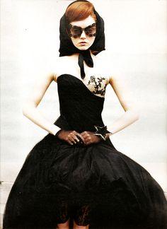 Alexander McQueen by Juergen Teller for W Magazine