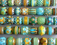 lamp work, lampwork bead, glass bead