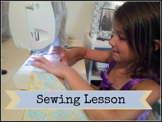 Teach Kids To Learn To Sew