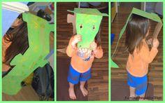 Taming the Goblin: - Cardboard Crocodile Costume