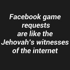 No games please.