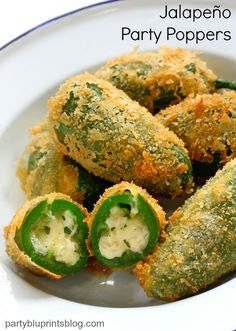 Easy Jalapeño Party Poppers Recipe!
