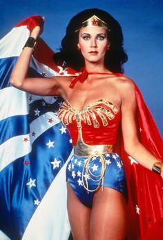 Wonder Woman - Lynda Carter.  I felt just like her in my under-roos.  :)