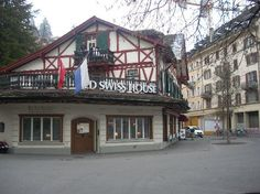 Old Swiss House - I had one of the best meals here in Luzern, Switzerland