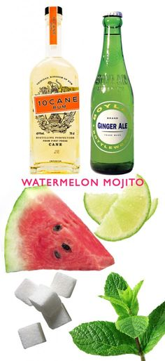 Lovely Finds: Watermelon Mojitos