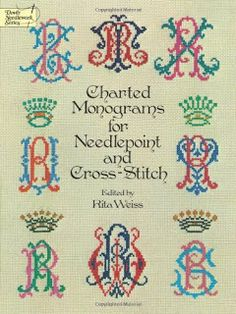 Charted Monograms for Needlepoint and Cross-Stitch
