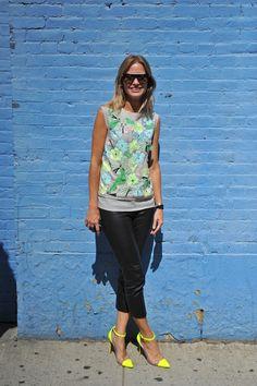 Holli Rogers at  New York Fashion Week