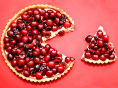 Cherry amaretto tart