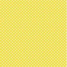 Swiss Dots Mimosa Yellow Beverage Napkins