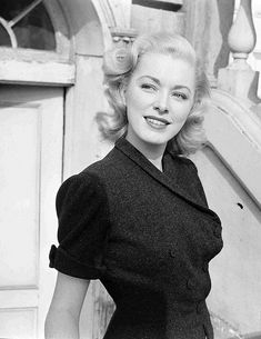 Actress Eleanor Parker (photo by Loomis Dean, November 1951)