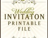 Free printable wedding invites!
