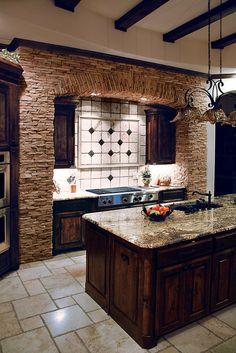 Coronado Stone Products Kitchen Application - Mt Strip / Renaissance Blend