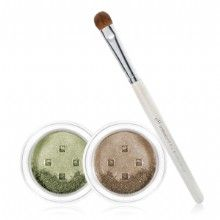 e.l.f. Mineral Spring 3-Piece Eyeshadow & Brush Set in Earthy