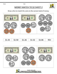 2nd Grade Magic of Math Unit 5 Counting Money and