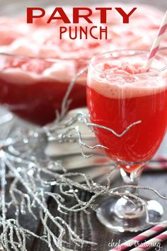 party punches, crowd pleasers, punch bowls, non alcoholic, fruit punch, parties, raspberri sherbet, drink recipes, parti punch