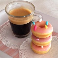 My mini doughnuts...