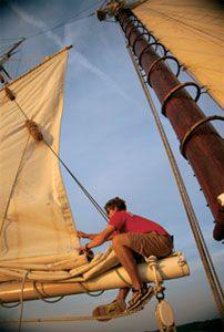 Sailing in Pure Michigan