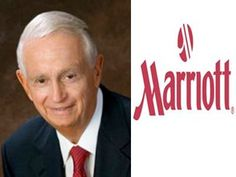 J.W. Marriott Jr. -- Chairman and CEO of Marriott International  Boy Scout