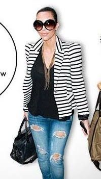 want the blazer ; love this outfit on her