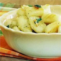 Gnocchi with Sage-Butter Sauce - Allrecipes.com
