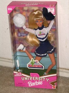 University of Arizona Barbie. I actually have one of these !