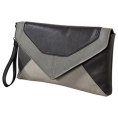 Mossimo colorblock clutch