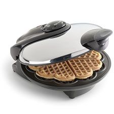 I HAVE TO HAVE A HEART WAFFLE MAKER FOR MY TEA PARTY! :(