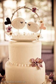 iaiácasa: Topos de bolo de passarinho