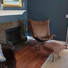 Nice paint colors on Pinterest  Dark Trim, Black Granite Countertops ...