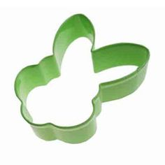 Cookie Cutter Bunny Face Green $2.95